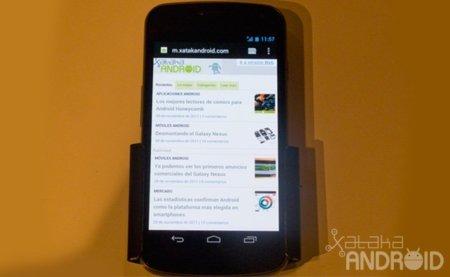 Galaxy Nexus se presenta en España. Galaxia Xataka