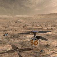 Un helicóptero camino de Marte: la sorpresa de la NASA para su misión en 2020