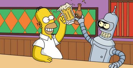 Bender y Homer