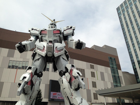 Unicorn Gundam Japon 1