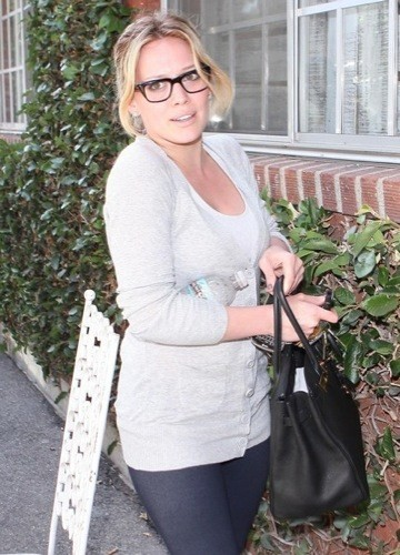 Hilary Duff gafas