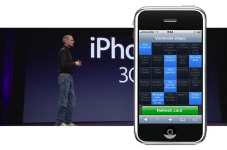 Pre-keynote: Bingo en formato aplicación web para iPhone e iPod touch