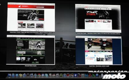 Las webs de los fabricantes de motos a fondo (I)