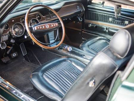 espectacular ford mustang bullitt de 1968 que saldr a subasta en mayo. Black Bedroom Furniture Sets. Home Design Ideas