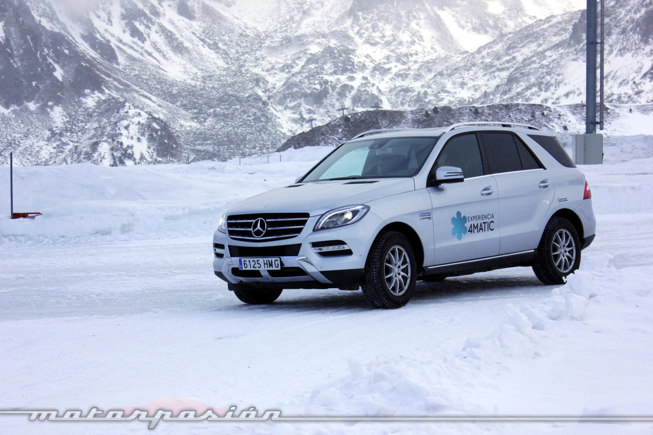 Foto de Michelin Pilot Alpin y Michelin Latitude Alpin, Experiencia 4Matic (15/27)