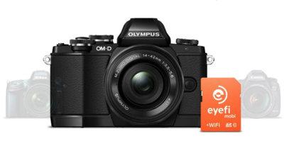 Eyefi ahora también es compatible con las cámaras con WiFi de Olympus y GoPro