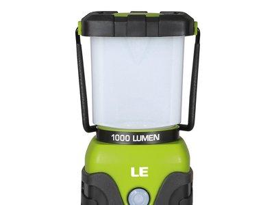 Oferta flash en el farol de camping de 1.000 lúmenes de Lighting Ever: hasta las 19:00 h cuesta 14,39 euros