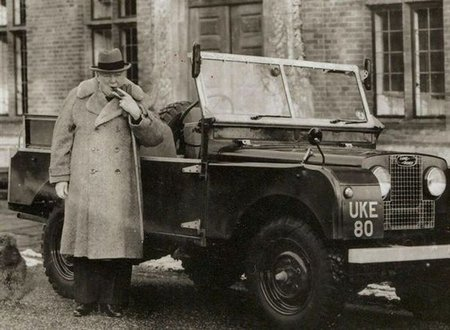 Adjudicado el Land Rover Serie 1 de Winston Churchill por casi 161.000 euros