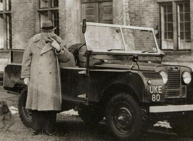 Land Rover - Winston Churchill