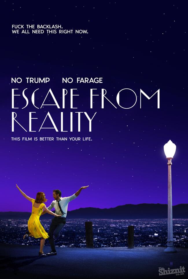 Honest Posters Oscars La La Land