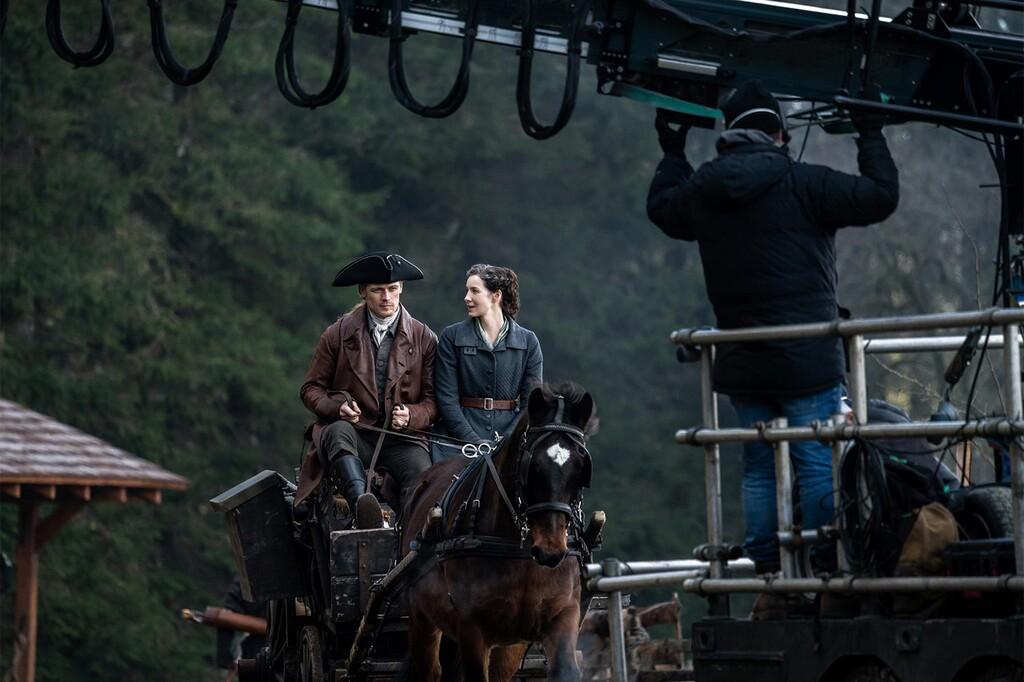 'Outlander' arranca el rodaje de su temporada 6: tenemos la primera imagen de los nuevos episodios y prometen una