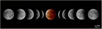 Eclipse total de luna: una oportunidad fotográfica para noctámbulos