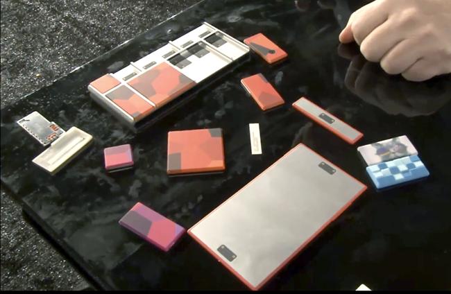 Google nos enseña en vídeo un par de prototipos del Project Ara