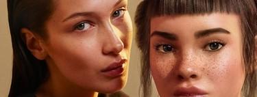 ACTUALIZADO: La polémica del beso apasionado de Bella Hadid y Lil Miquela en la campaña de Calvin Klein