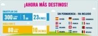Happy Móvil extiende las fronteras de sus tarifas Habla Mini 9 y Smartplan 24 horas