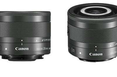El objetivo Canon EF-M 28mm f/3.5 Macro IS STM sorprede con iluminación LED incorporada