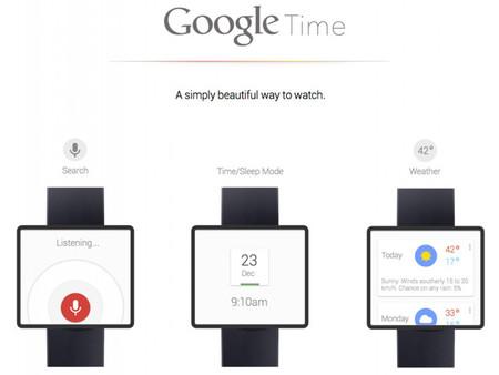 El reloj inteligente de Google ¿más cerca de lo que parece?