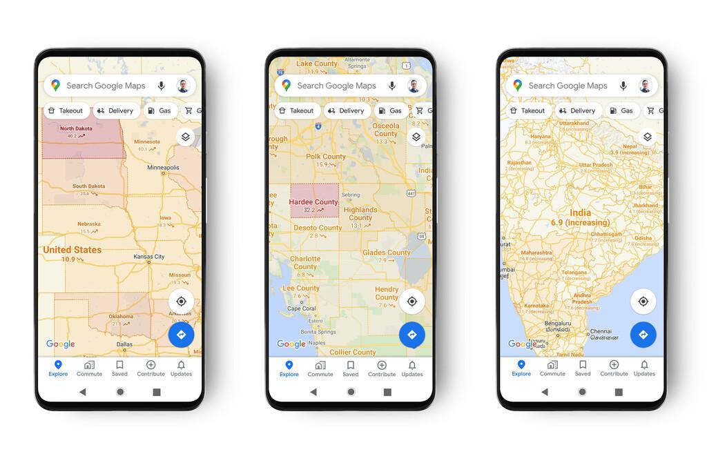 Google Maps estrena la capa COVID-19: de este modo podrás conocer la incidencia del coronavirus de tu destino