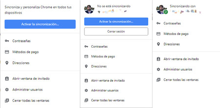 Sincronizacion Google Chrome