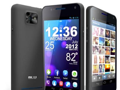 BLU VIVO 4.3, Dual SIM y pantalla Super AMOLED