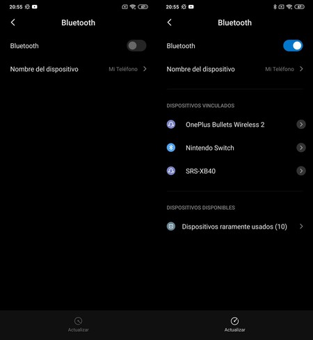 Prueba Bluetooth