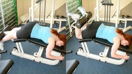 Guía para principiantes (XXXIII): Curl de piernas acostado