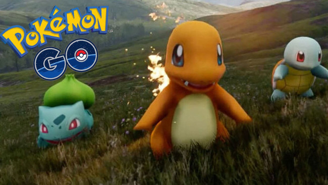 Pokemon Go Iniciales
