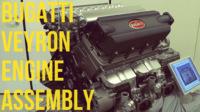 Así se armaba el W16 del Bugati Veyron