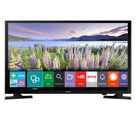 Smart TV de 49 pulgadas Samsung UE49J5200, con resolución FullHD, por sólo 399,99 euros y envío gratis