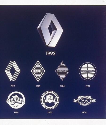 Logos Renault Historia