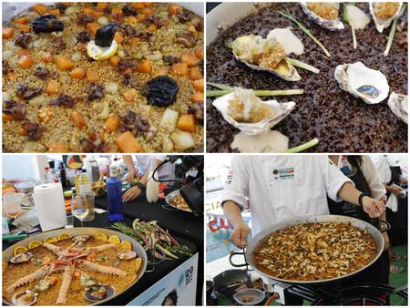 Sepia Pera Ostras Cerveza Guiness Limon Ginseng Los Ingredientes Durante La Primera Ronda Fueron De Lo Mas Variopintos C Paella World Day