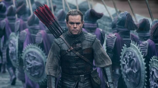 Matt Damon en The Great Wall