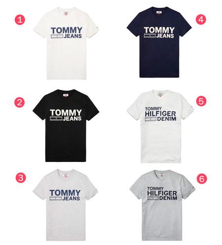 Superweekend de eBay: camisetas para hombre de manga corta Leman de Tommy Hilfiger por 24,95 euros con envío gratis