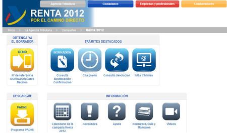 Disponible para su descarga el programa PADRE de la RENTA 2012