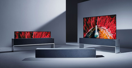 Lg Signature Oled Rollable Tv Lifestyle Televisor Enrollable