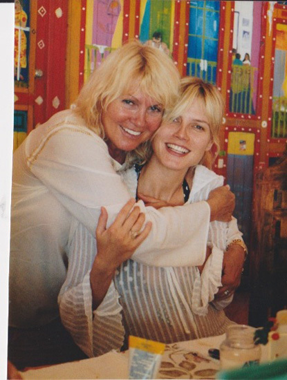 Heidi Klum dia de la madre