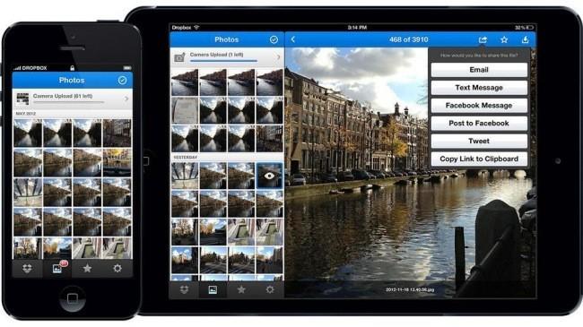 Fotos en Dropbox