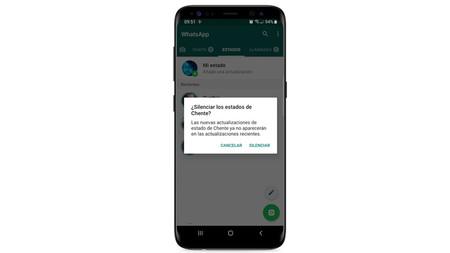 WhatsApp en México ya permite silenciar los estados de nuestros contactos en Android