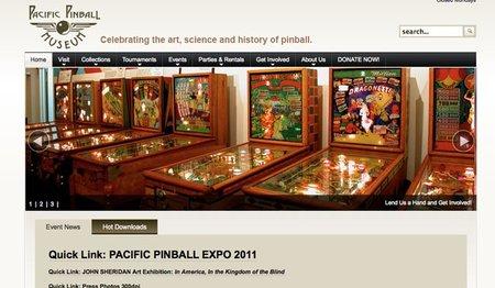 El museo del Pinball