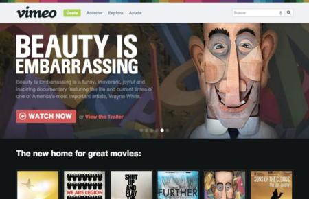 Vimeo se mete en el mercado de las películas online con su nuevo servicio Movies