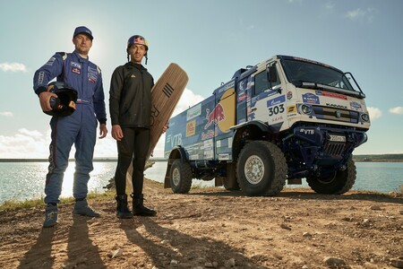 Red Bull Kamaz Wakeboard 1 4