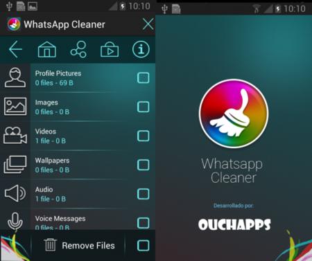 Whatsapp clenaer