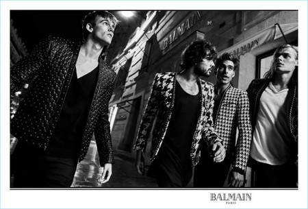 Balmain Fall Winter 2017 Mens Campaign