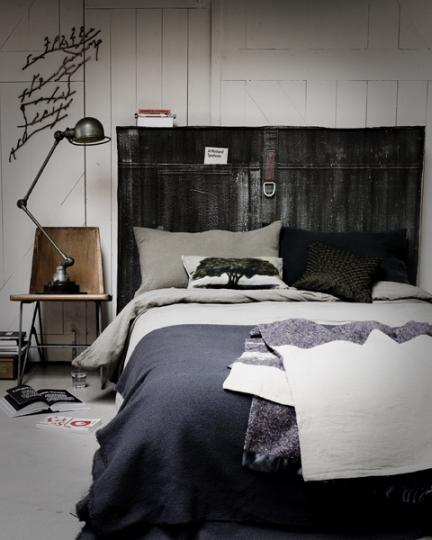 Un encantador dormitorio vintage por muy poco dinero - Decoracion muebles vintage ...