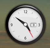Analog Clock: El widget del reloj analógico