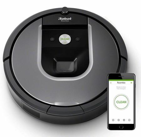 iRobot Roomba 960 - Robot Aspirador Óptimo Mascotas
