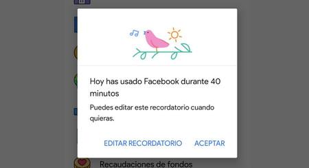 """Así es 'Tu tiempo en Facebook': el """"bienestar digital"""" de Facebook para controlar cuánto tiempo pasas en su app"""