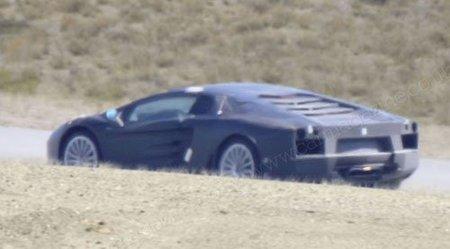 Más imágenes del futuro Lamborghini V12