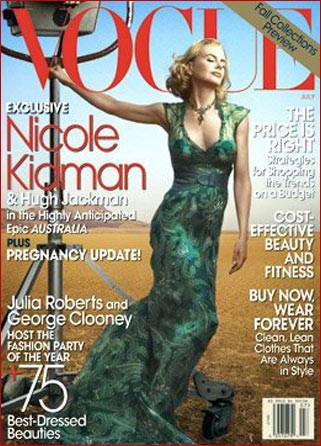 Nicole Kidman en Vogue