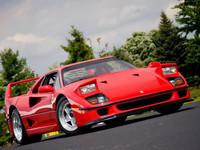 Un Ferrari F40 para Vettel por el amor de la viuda de Luciano Pavarotti